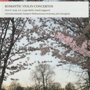 Niels W Gade – P E Lange-Müller Rued Langgaard Violin Concertos